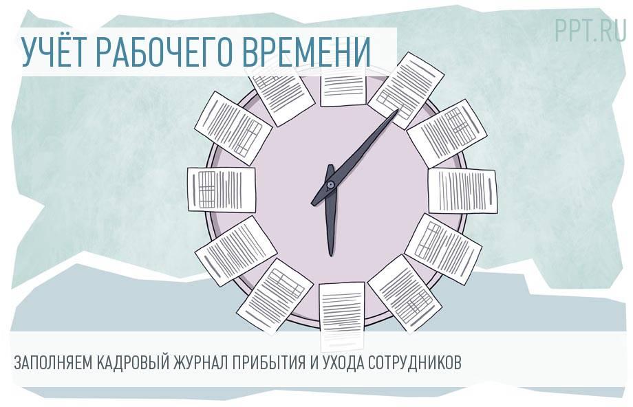 Журнал учета работников, выбывающих в служебные командировки.