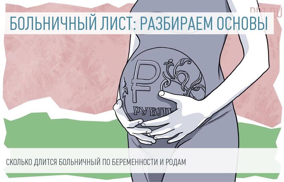 Сколько дней длится больничный по беременности и родам (декретный) в 2019 году
