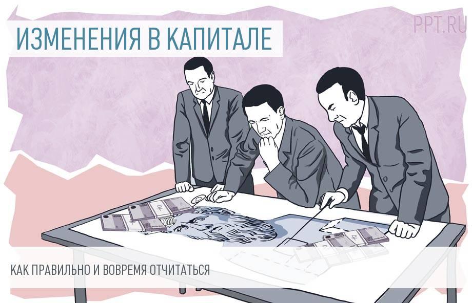 Отчет об изменениях капитала: форма 3