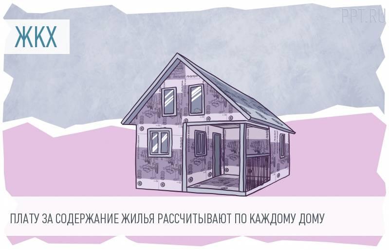 Плата за содержание и ремонт жилья должна рассчитываться индивидуально