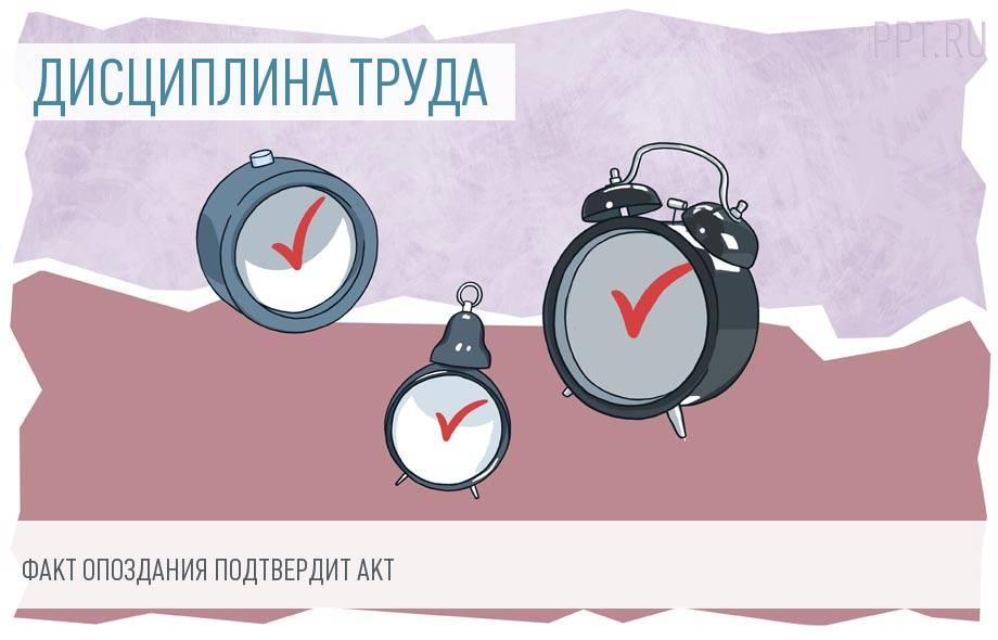 Трудовой кодекс: опоздание на работу на 15 минут