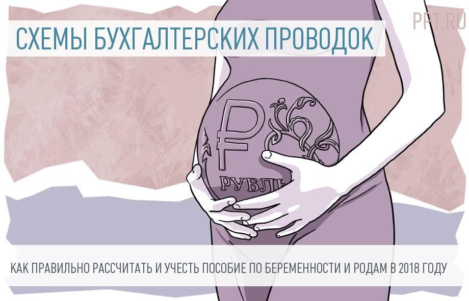 Учет пособия по беременности и родам в 2018 году