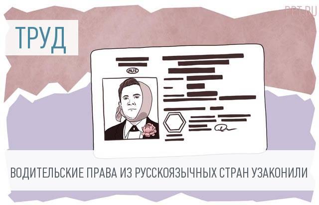 Депутаты меняют условия работы иностранных водителей в РФ