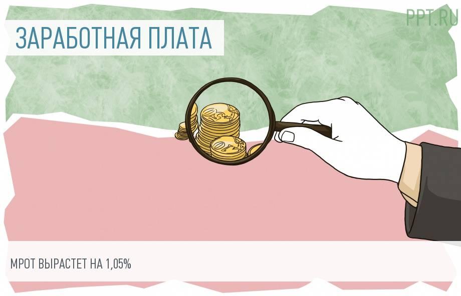 МРОТ с 1 января составит 11 280 рублей в месяц
