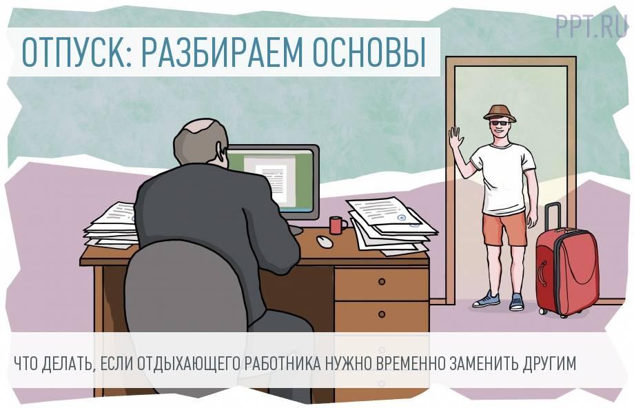 Прием работника на время отпуска основного сотрудника