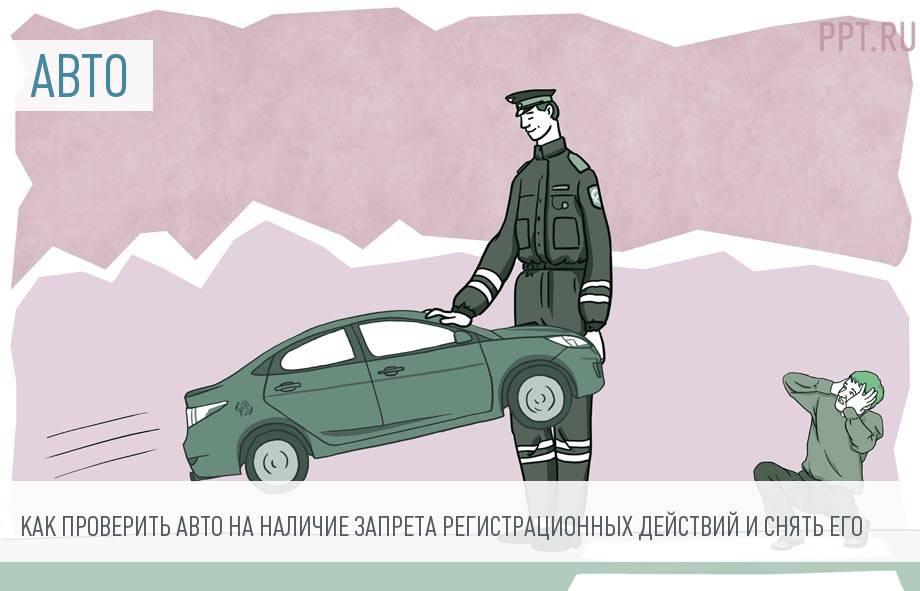 Запрет на регистрационные действия автомобиля – что это значит, кто накладывает ограничения и как снять запрет