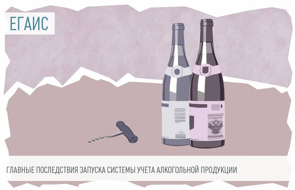 Розничная торговля алкоголем: ЕГАИС 2016