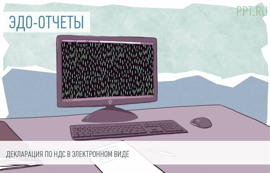 Как сдать декларацию по НДС в электронном виде