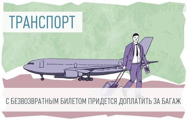 Бесплатный провоз багажа на самолетах отменили