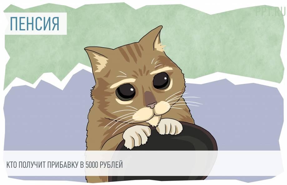 кто получит пенсию 5000 рублей