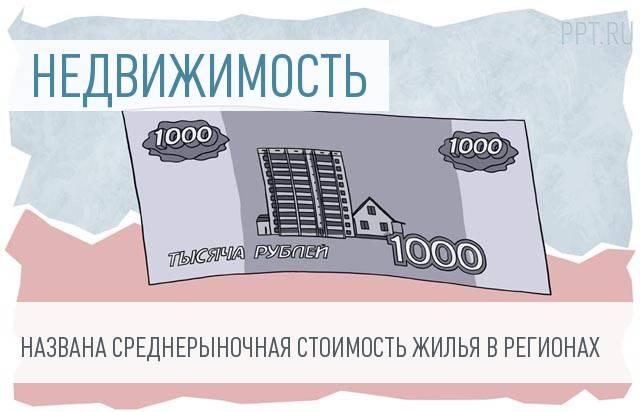 Минстрой: Самое дешёвое жильё вСЗФО находится вПсковской области