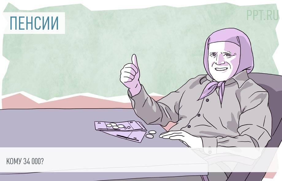 Кто получит пенсию в 34 тысячи рублей — сказал Минтруд