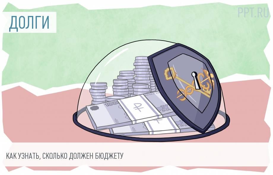 узнать свою задолженность налоги