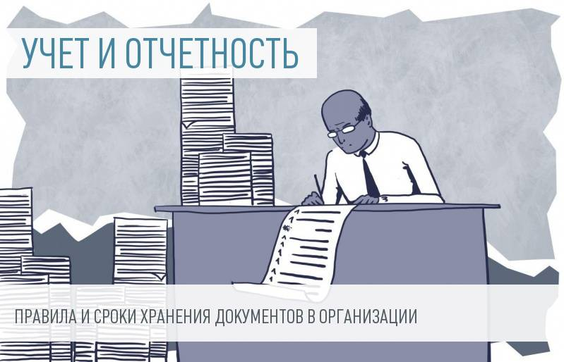 Хранение документов: правила, сроки и способы