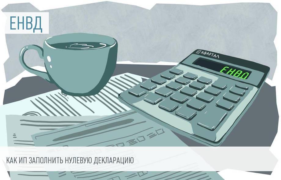 Новая декларация ЕНВД 2020 года для ИП – скачать бланк и образец заполнения