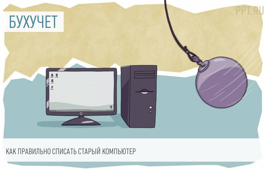 Утилизация старого компьютера организацией, применяющей систему УСН «доходы»