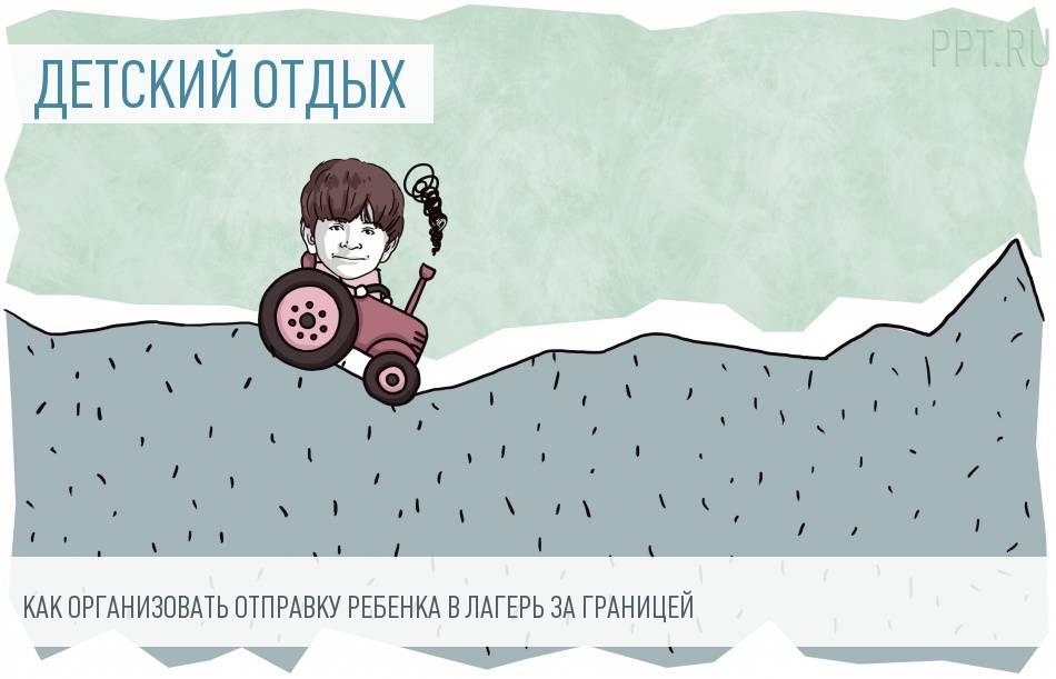 Организация летнего отдыха: иностранный детский лагерь