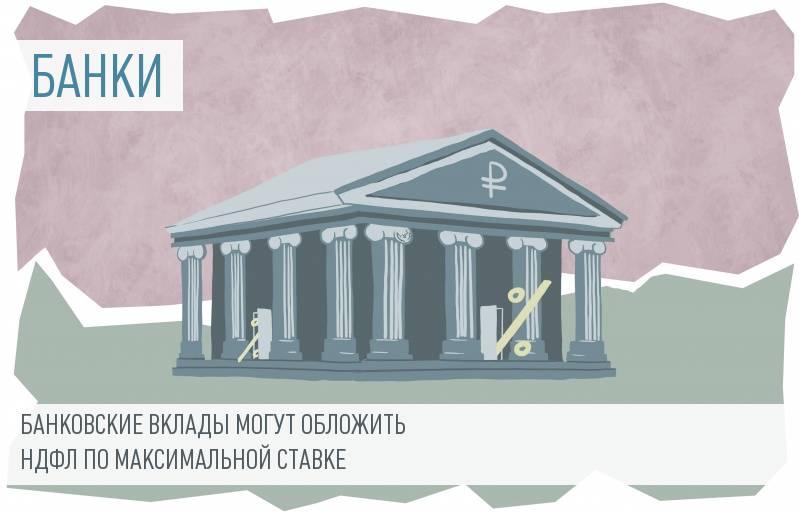 С 2016 года доход по банковским вкладам могут обложить НДФЛ в размере 35%