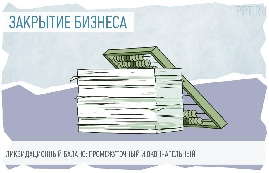 Ликвидационный баланс: пошаговое закрытие бизнеса