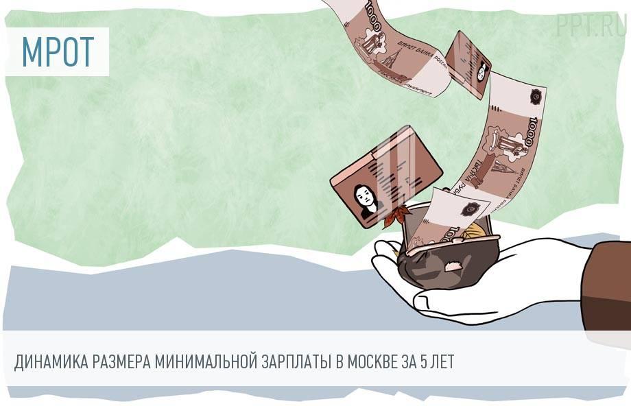 МРОТ по Московской области с 1 июля 2019 года