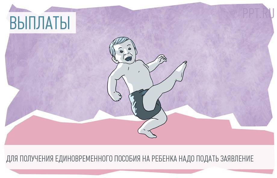 Как составить заявление на единовременную выплату при рождении ребенка
