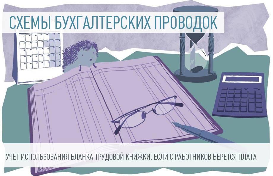 Учет приобретения и использования бланков трудовых книжек работодателем