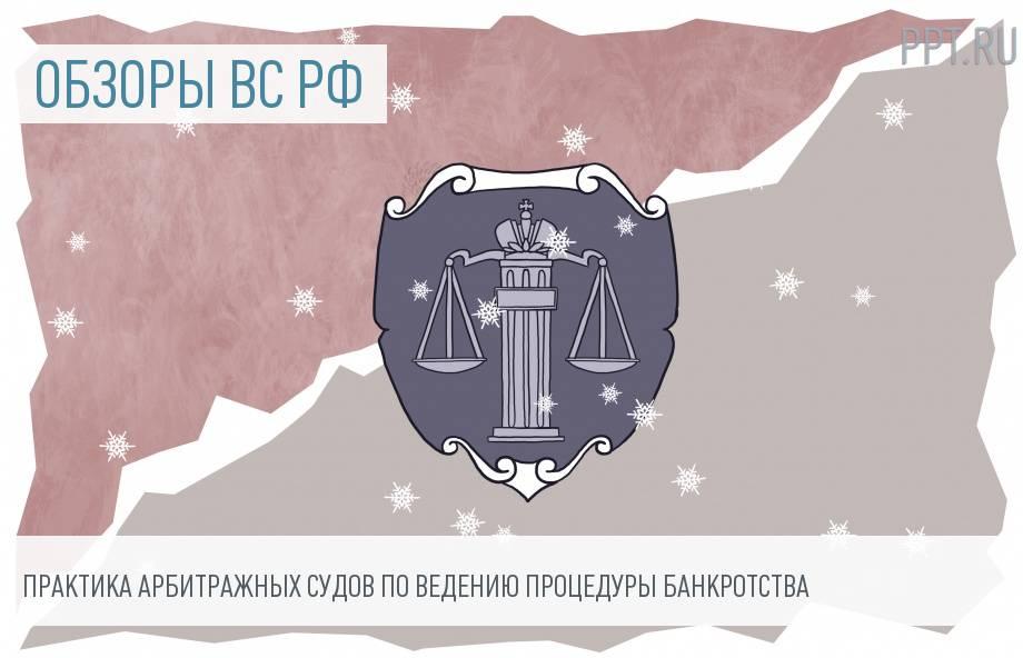 Пленум ВС РФ обобщил практику о банкротстве юридических лиц