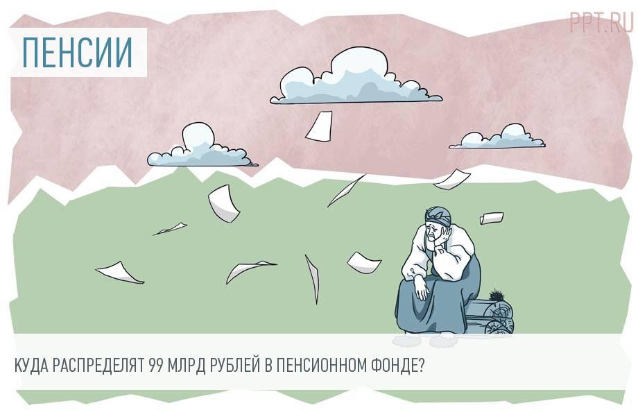 Прибавка к пенсии 2300 рублей каждому, или На что ПФР истратит почти 100 млрд рублей