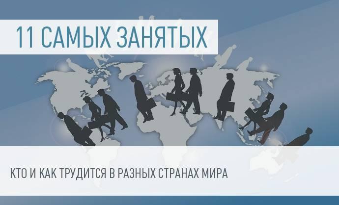 Рейтинг наиболее трудолюбивых стран мира